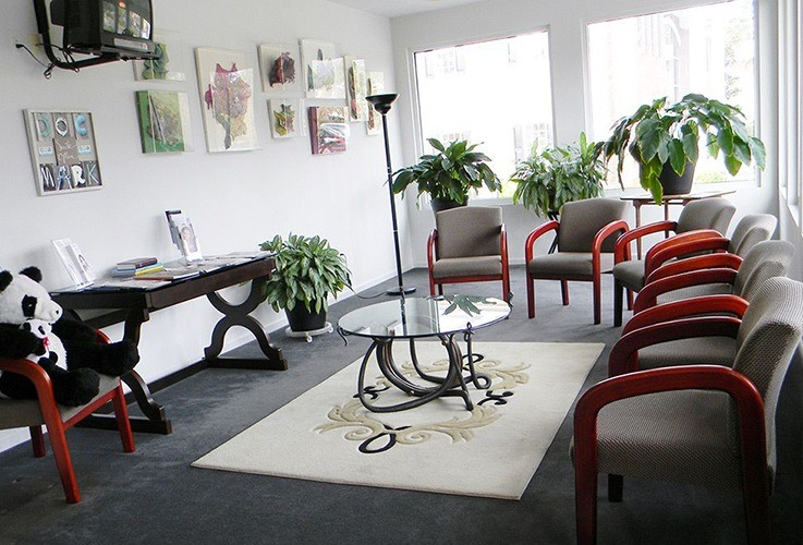 Dental waiting room